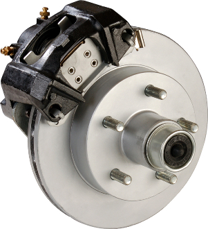 TIE DOWN ENGINEERING 6 LUG VENTED HUB ROTOR CALIPER